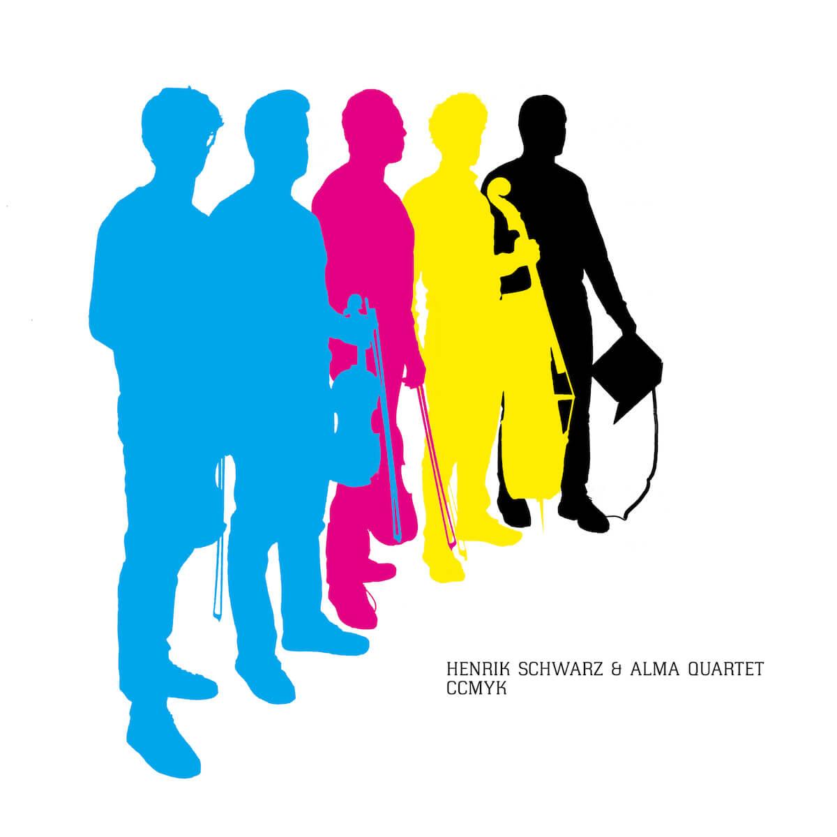 ヘンリク・シュワルツ、弦楽四重奏アルマ・カルテットとの共作アルバム『CCMYK』を5月24日に世界同時リリース! music190517henrik-schwarz_info