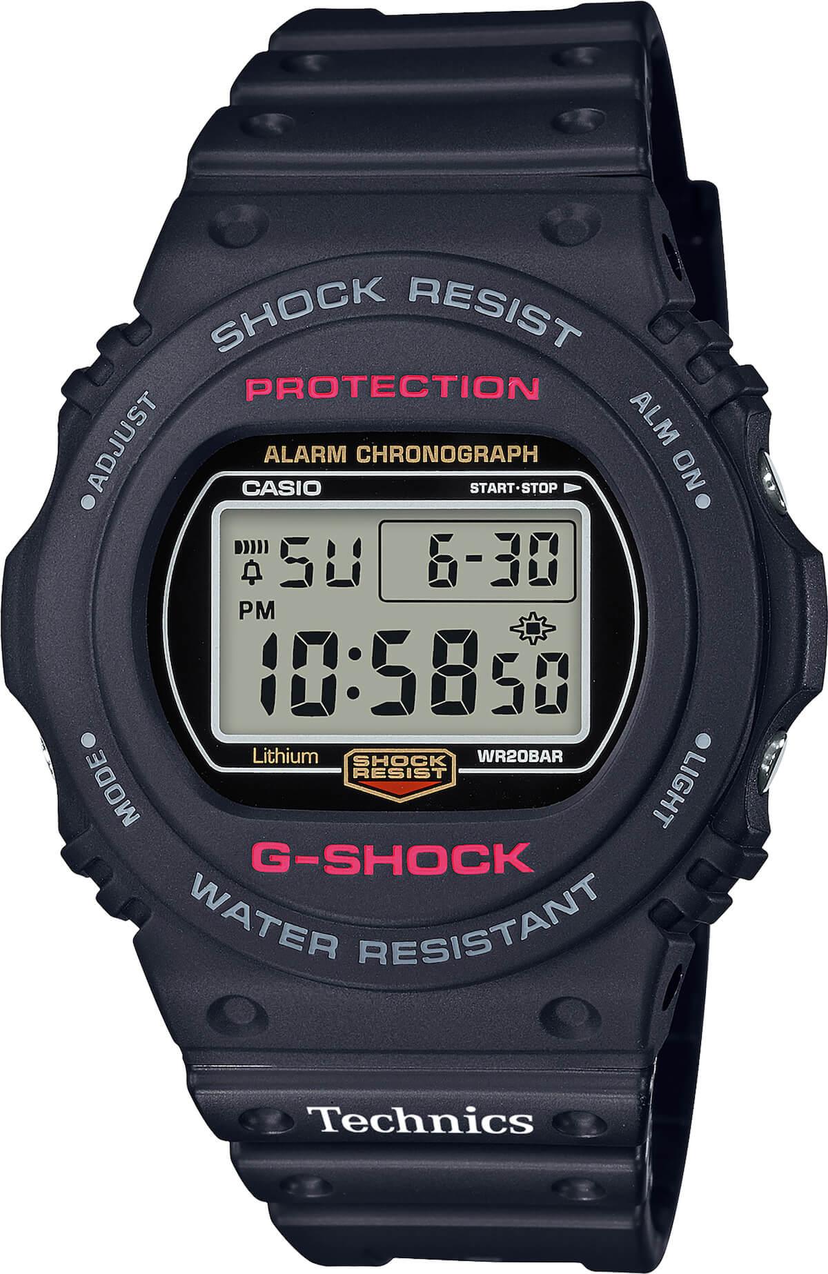 Technics「SLー1200MK7」購入キャンペーン!2台購入でTechnicsロゴ入りGーSHOCKプレゼント tech190520_technics_3