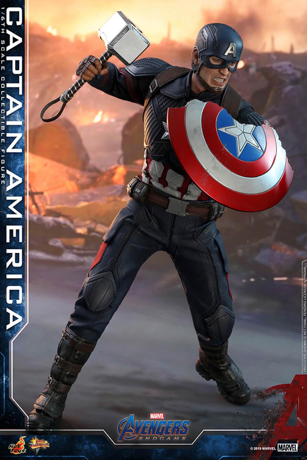 ホットトイズから『アベンジャーズ/エンドゲーム』の精巧なフィギュアが続々登場!キャプテン・アメリカ、アイアンマンら life190521_avengers_hottoys_5