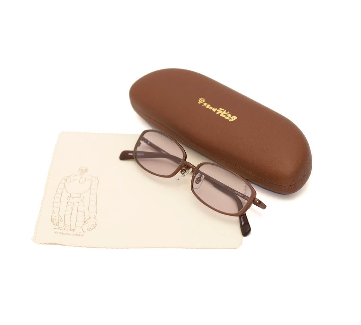 『天空の城ラピュタ』のムスカ大佐とパズーがかけていたアイウェアを完全再現!鯖江品質のメガネが登場 life190522_raputa_1