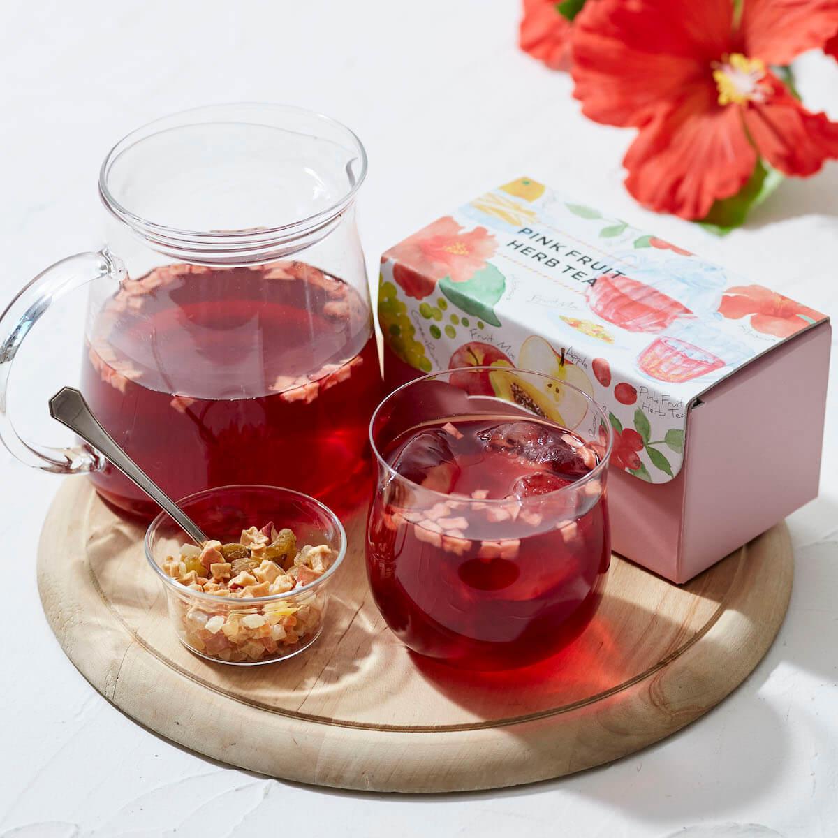 アフタヌーンティー・ティールームにて、ピンクとブルーのハーブティーセット2種を5月30日から数量限定で発売! gourmet190522afternoontea_main