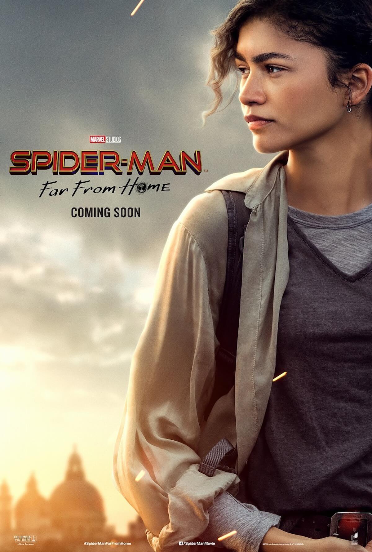 『スパイダーマン:ファー・フロム・ホーム』ストーリーの鍵を握る4人のポスターが解禁! film190523_spiderman_4