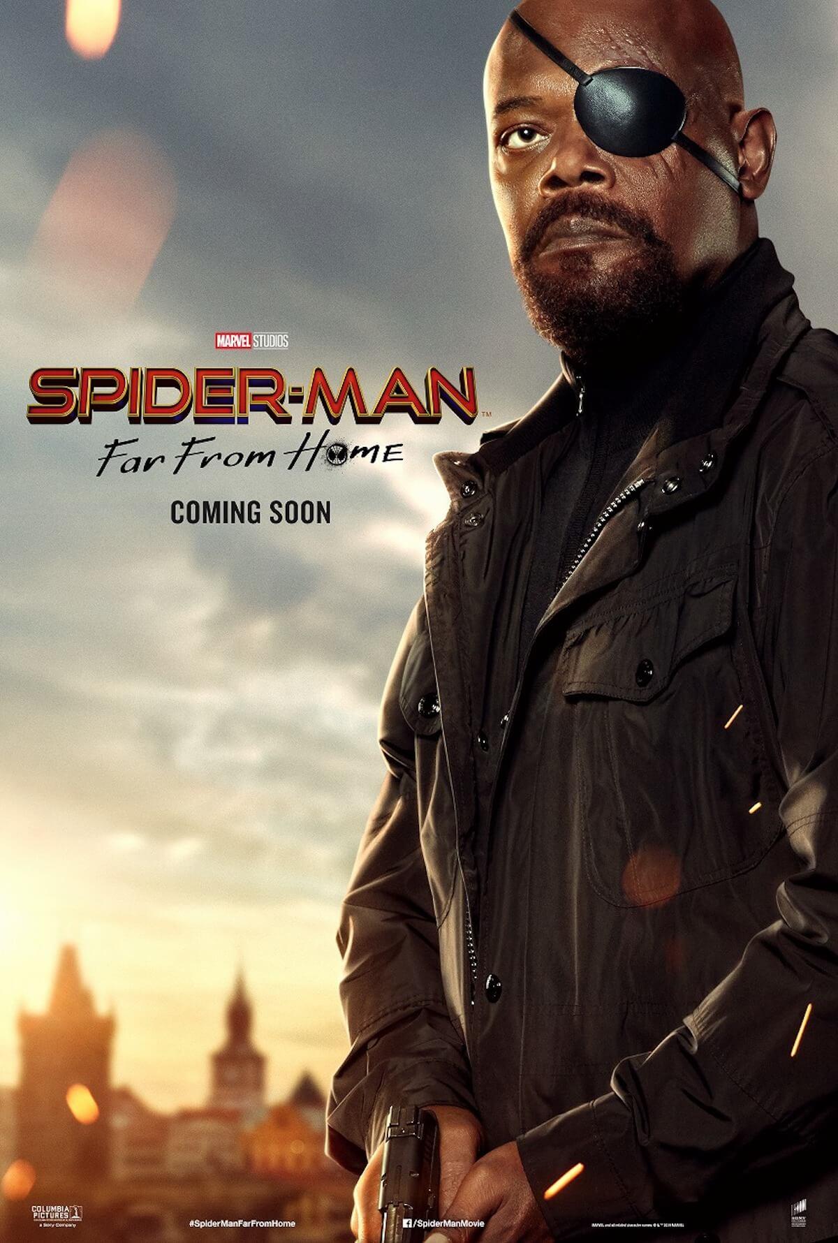 『スパイダーマン:ファー・フロム・ホーム』ストーリーの鍵を握る4人のポスターが解禁! film190523_spiderman_3