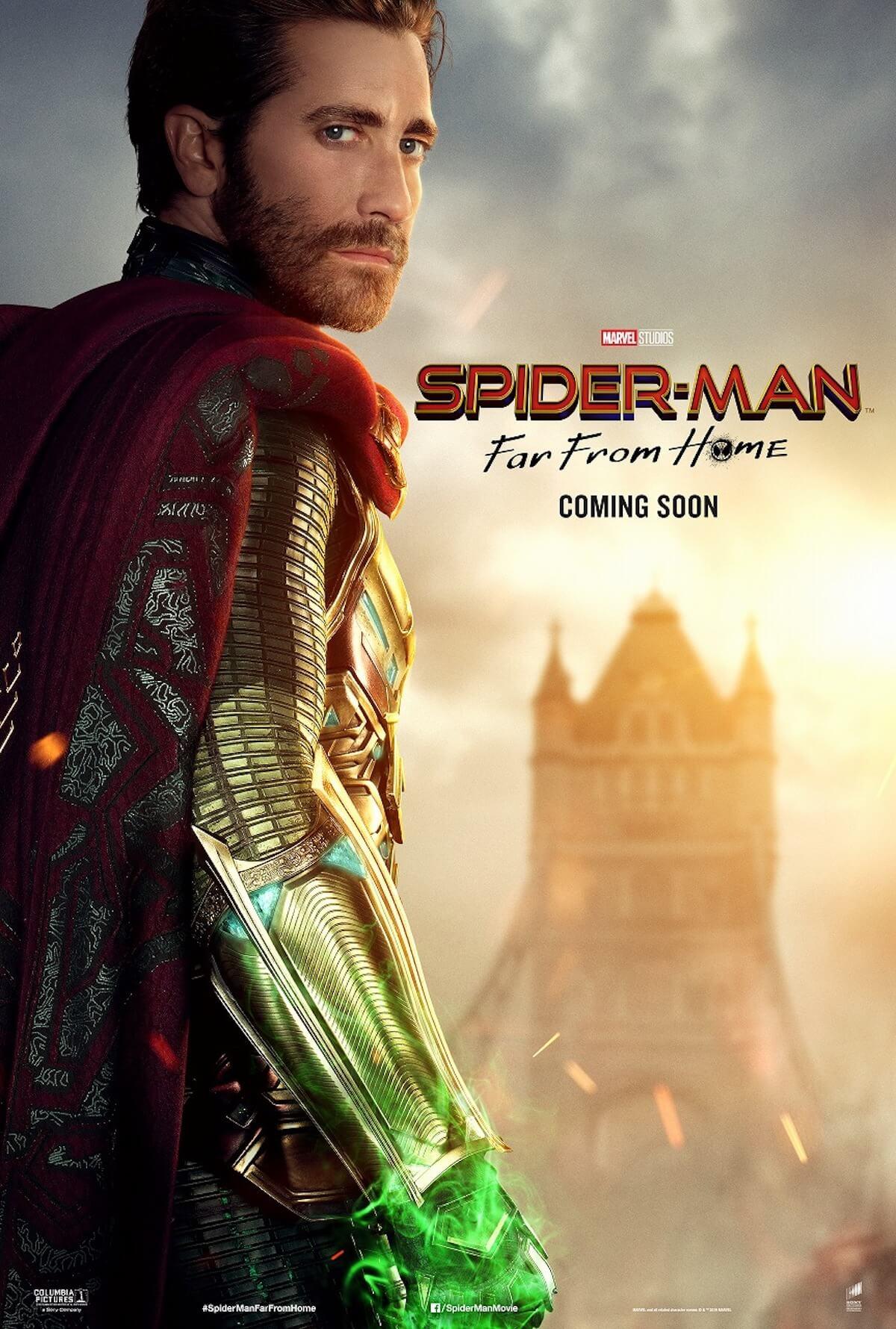『スパイダーマン:ファー・フロム・ホーム』ストーリーの鍵を握る4人のポスターが解禁! film190523_spiderman_2