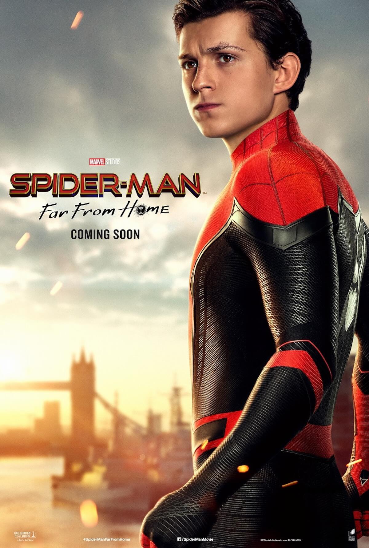 『スパイダーマン:ファー・フロム・ホーム』ストーリーの鍵を握る4人のポスターが解禁! film190523_spiderman_1