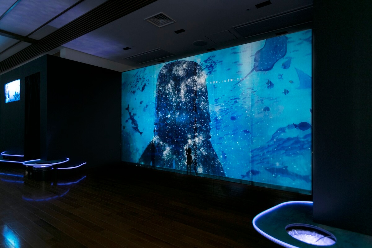 米津玄師、本日公開の「海の幽霊」全編アニメーションMVを実際の海の上で解禁!<海の上映会>開催 music190528_yonezukenshi_mv_1