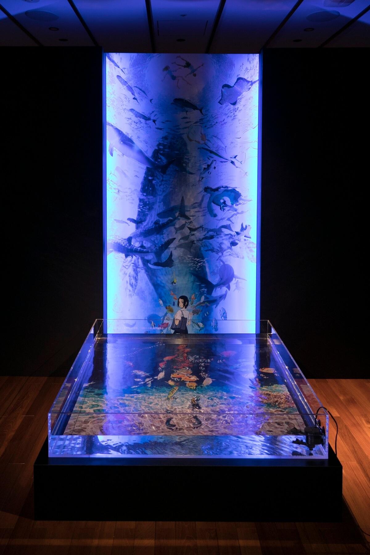 米津玄師、本日公開の「海の幽霊」全編アニメーションMVを実際の海の上で解禁!<海の上映会>開催 music190528_yonezukenshi_mv_6