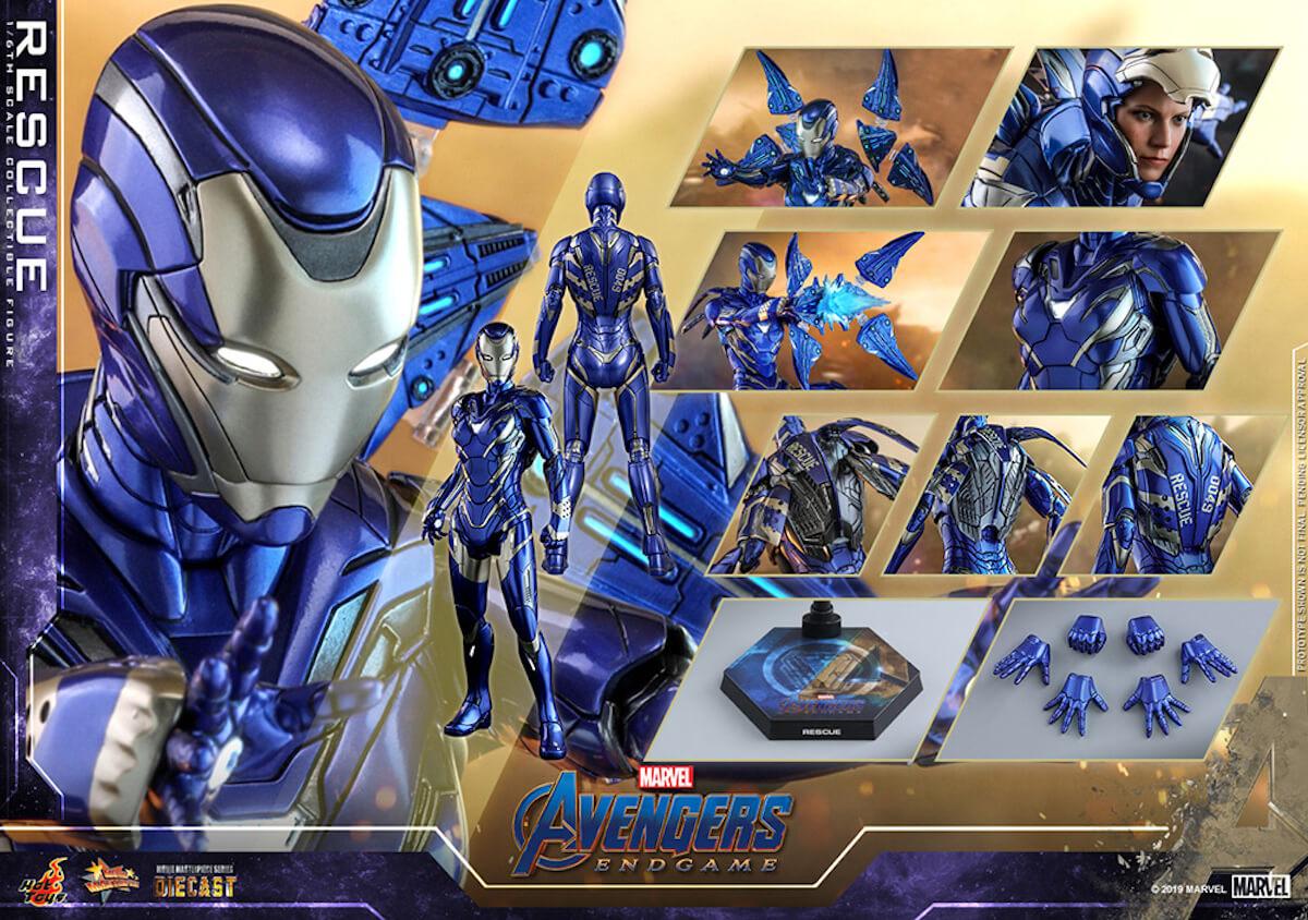 『アベンジャーズ/エンドゲーム』のペッパーがパワード・スーツに身を包む!ホットトイズ「レスキュー」フィギュアが登場 art190528_avengers_rescue_7