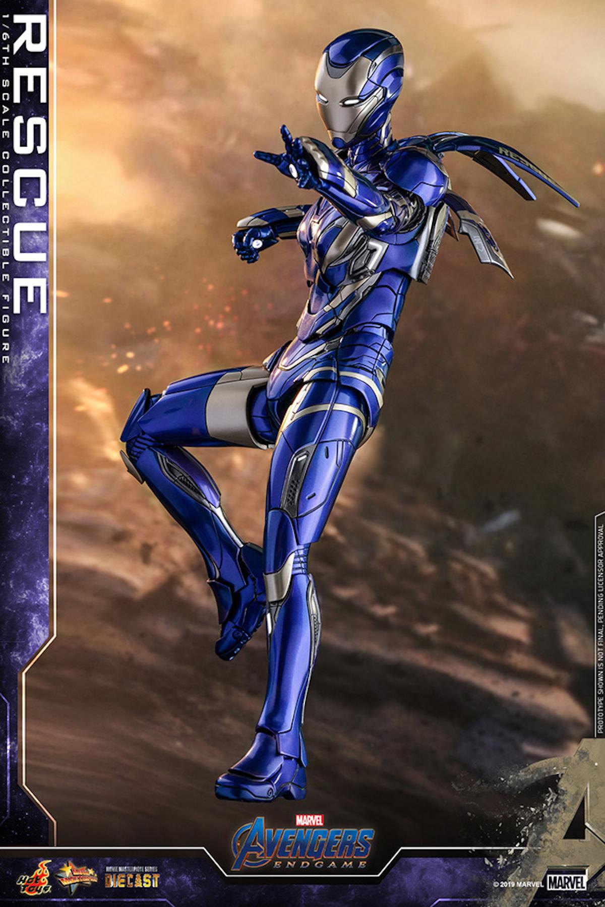 『アベンジャーズ/エンドゲーム』のペッパーがパワード・スーツに身を包む!ホットトイズ「レスキュー」フィギュアが登場 art190528_avengers_rescue_3