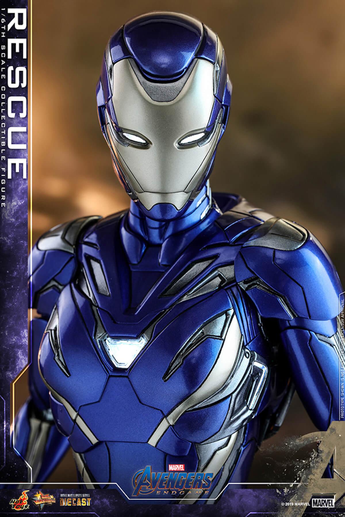 『アベンジャーズ/エンドゲーム』のペッパーがパワード・スーツに身を包む!ホットトイズ「レスキュー」フィギュアが登場 art190528_avengers_rescue_2
