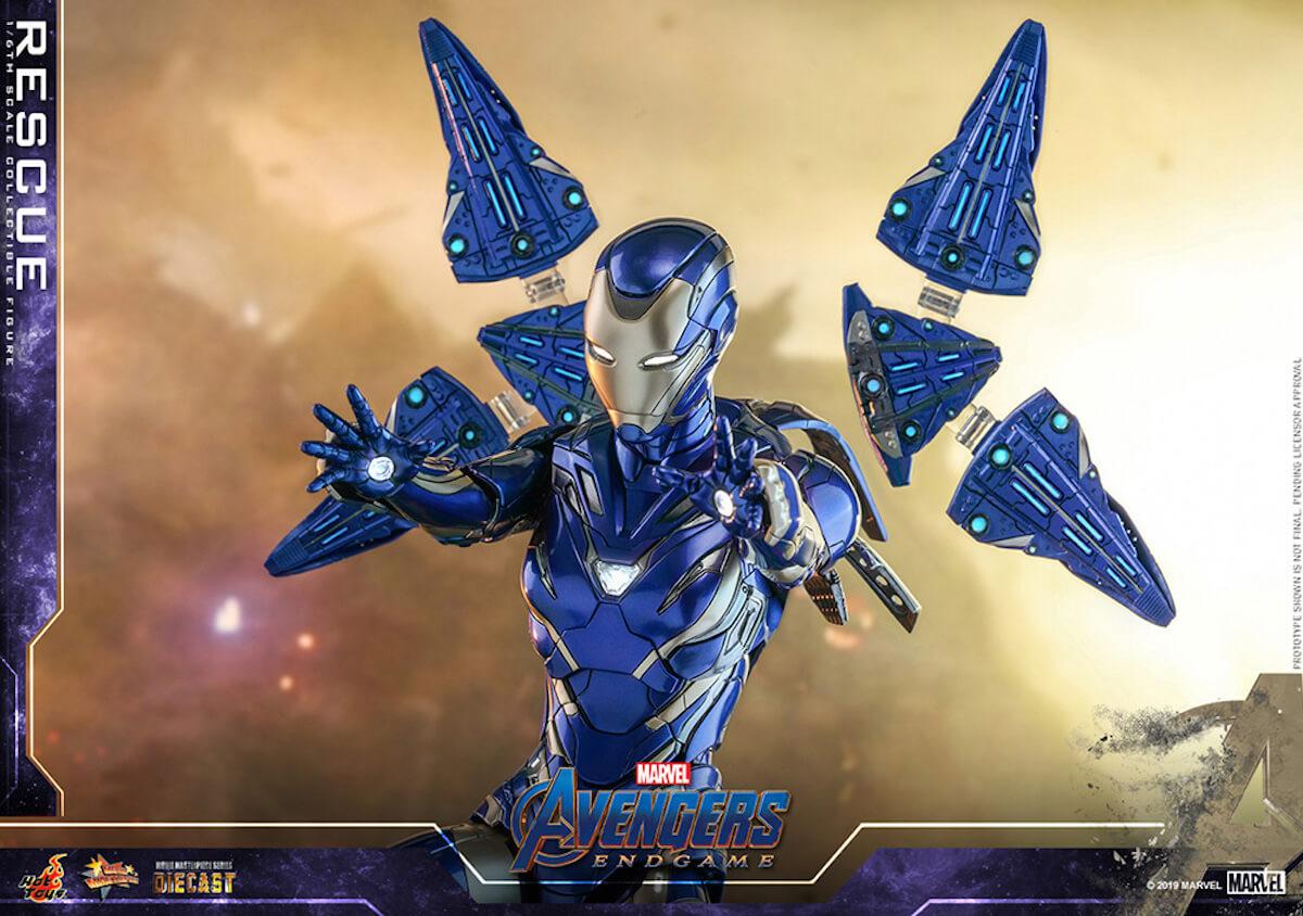 『アベンジャーズ/エンドゲーム』のペッパーがパワード・スーツに身を包む!ホットトイズ「レスキュー」フィギュアが登場 art190528_avengers_rescue_1