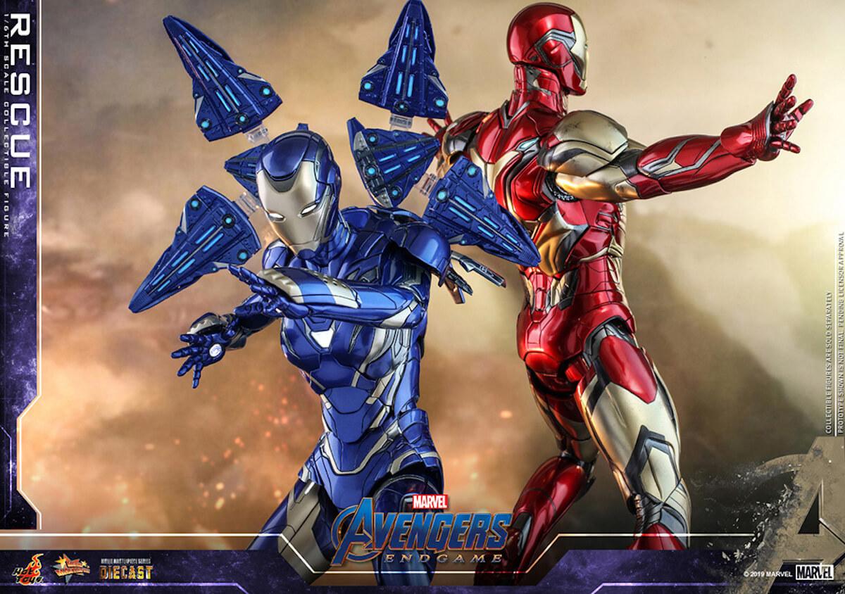 『アベンジャーズ/エンドゲーム』のペッパーがパワード・スーツに身を包む!ホットトイズ「レスキュー」フィギュアが登場 art190528_avengers_rescue_main