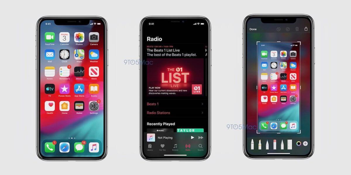 iOS13はこうなる!ダークモードに新アプリも登場予定|iOS13搭載iPhoneのスクリーンショットが公開 tech190529_ios13_1