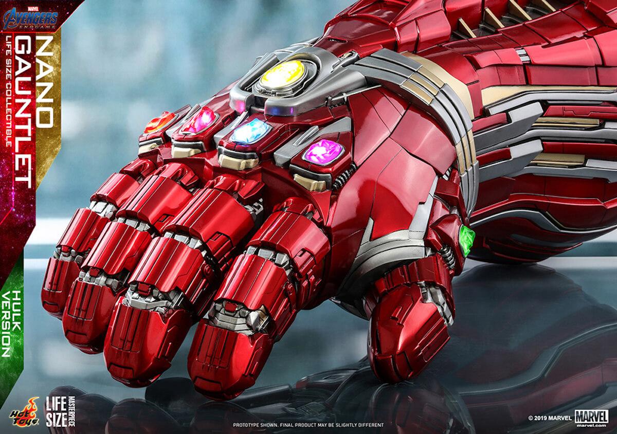 指を鳴らす勇気はあるか ホットトイズ『アベンジャーズ/エンドゲーム』実物大ナノ・ガントレット登場 art190529_hottoys_avengers_4