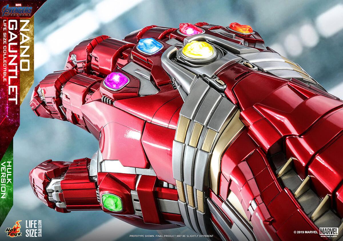 指を鳴らす勇気はあるか ホットトイズ『アベンジャーズ/エンドゲーム』実物大ナノ・ガントレット登場 art190529_hottoys_avengers_3