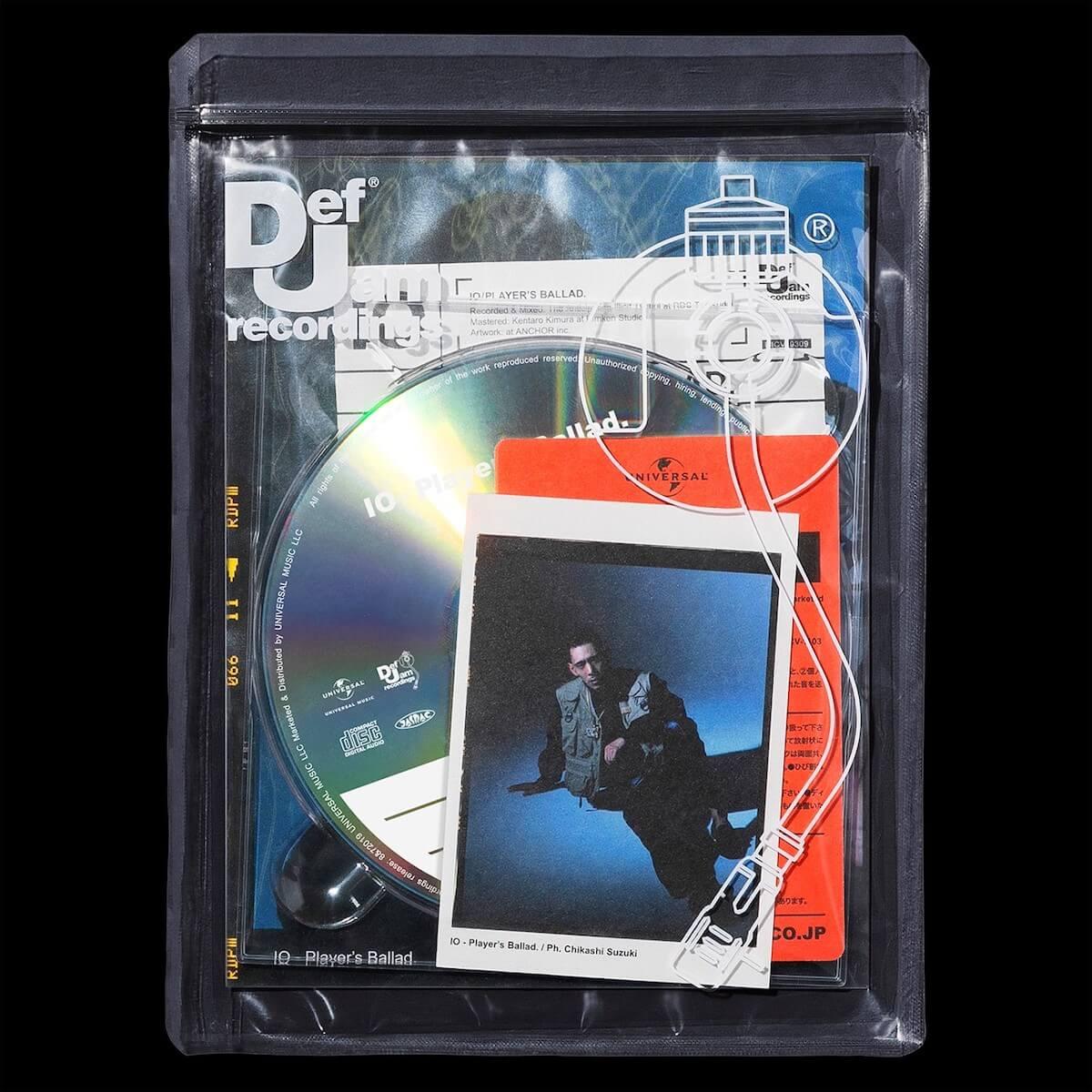 IOの1stアルバム『Player's Ballad.』収録曲「Shawty.」が本日より先行配信|〈Def Jam Recordings〉よりリリース music190531io-shawty_main