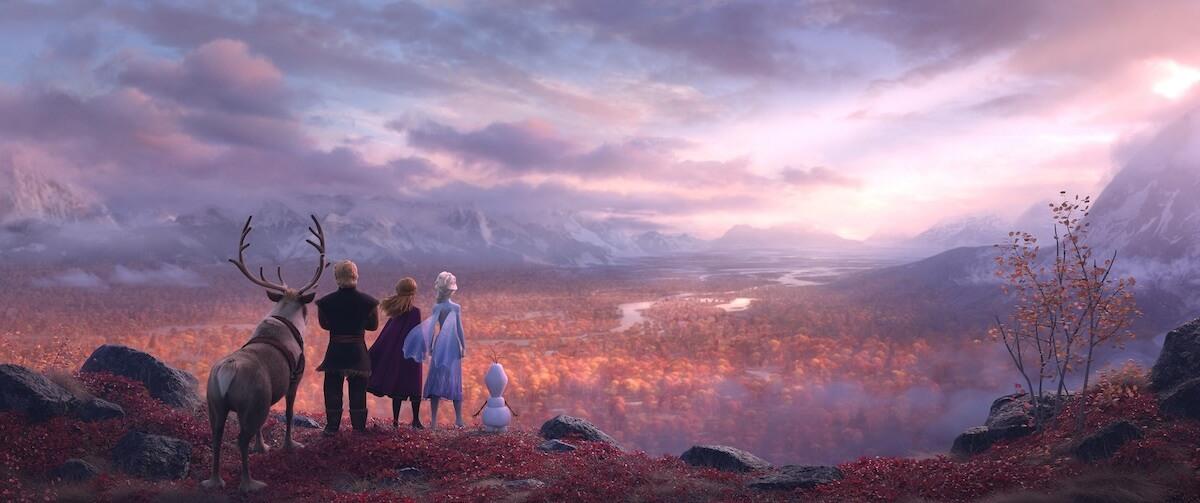 世界に先駆け解禁!『アナと雪の女王2』日本限定ビジュアルポスター公開 film190604frozen2_1