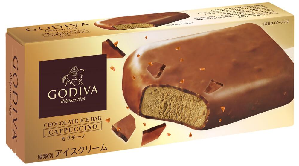 """""""たまには大人の贅沢を"""" 新フレーバー「ゴディバ チョコレートアイスバー カプチーノ」本日より数量限定販売! gourmet190604godivaice_3"""