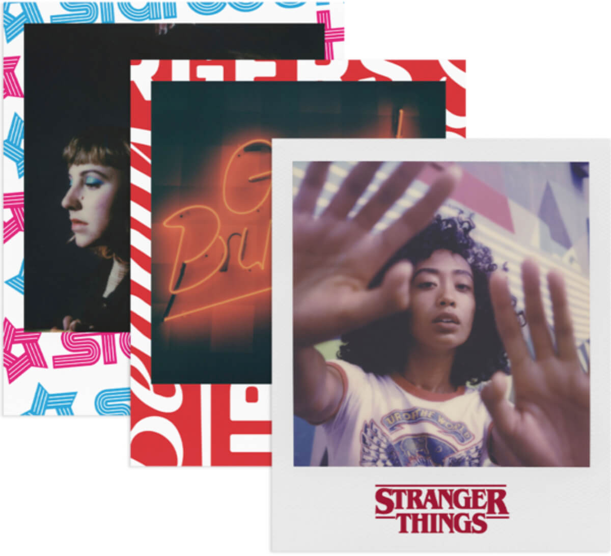 Netflix『ストレンジャー・シングス』のポラロイドカメラがかわいい!Polaroid Originalsとのコラボアイテムが発売 life190606_strangerthings_onestep_main