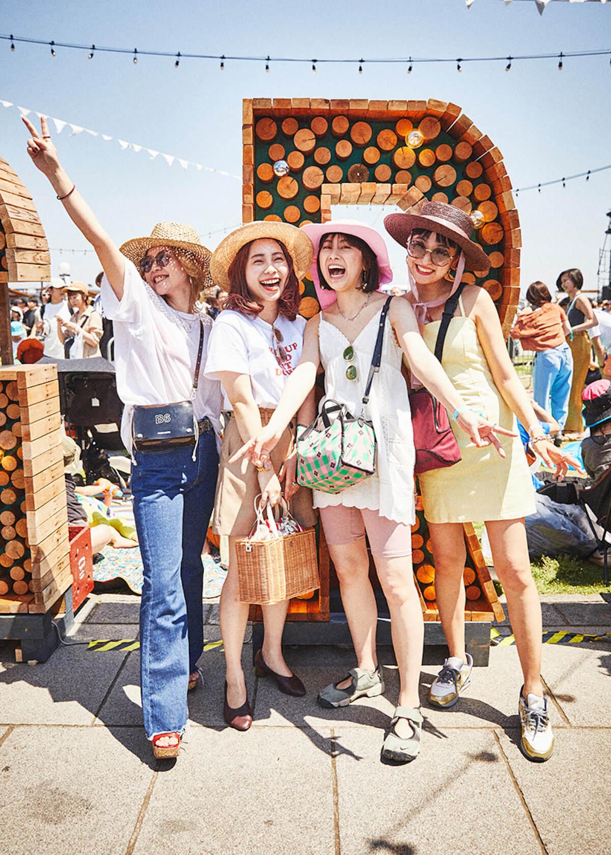 【GREENROOM FESTIVAL'19】夏を先取りしたフェスファッションスナップ! 9