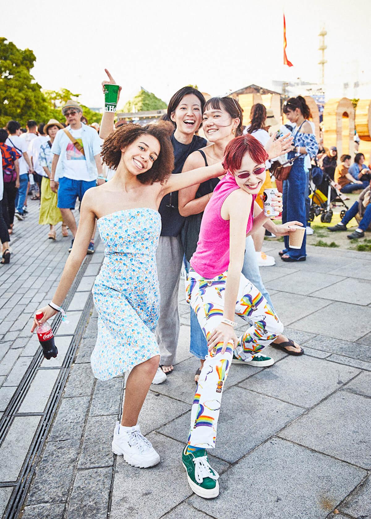 【GREENROOM FESTIVAL'19】夏を先取りしたフェスファッションスナップ! 13