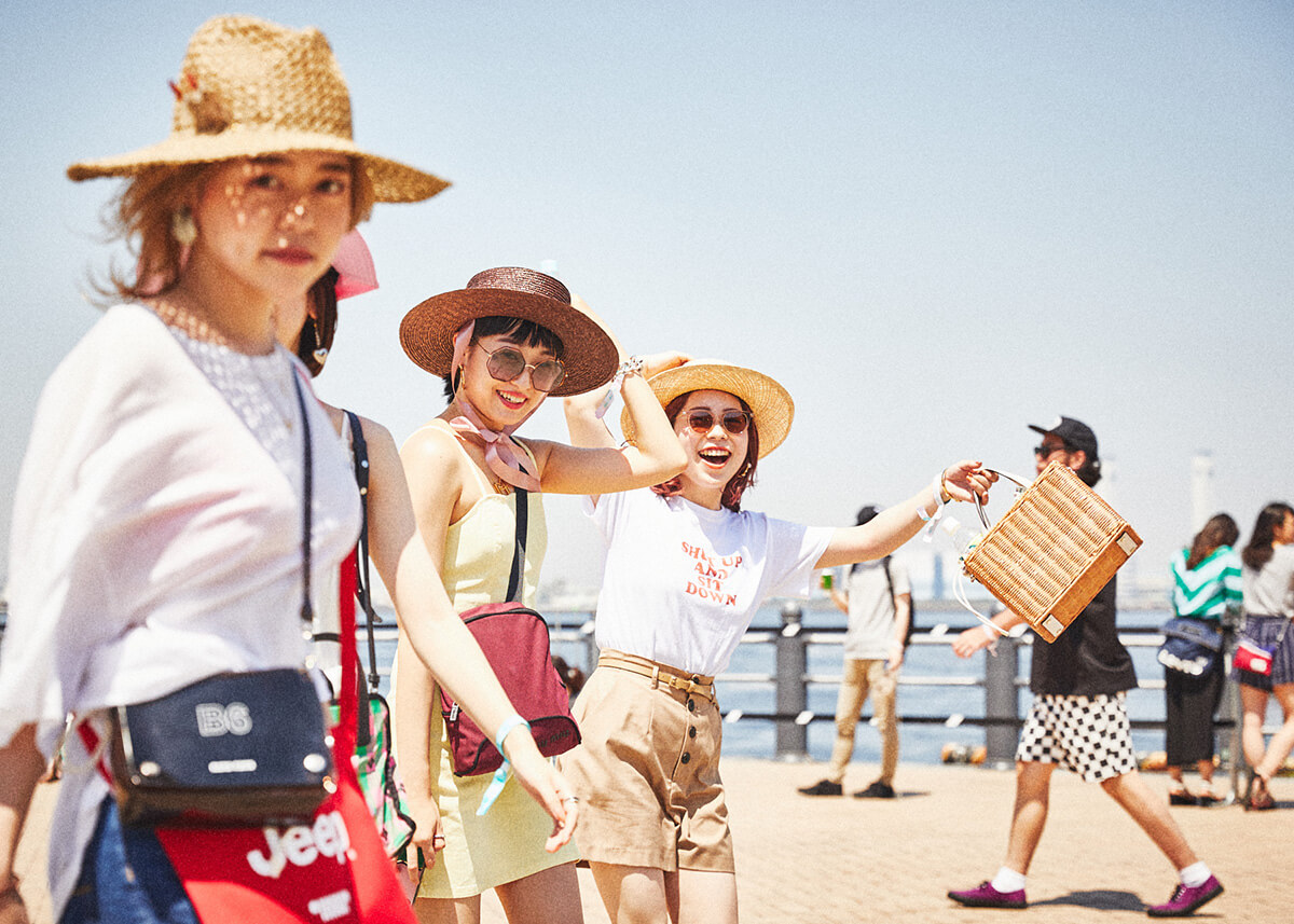 【GREENROOM FESTIVAL'19】夏を先取りしたフェスファッションスナップ! 11