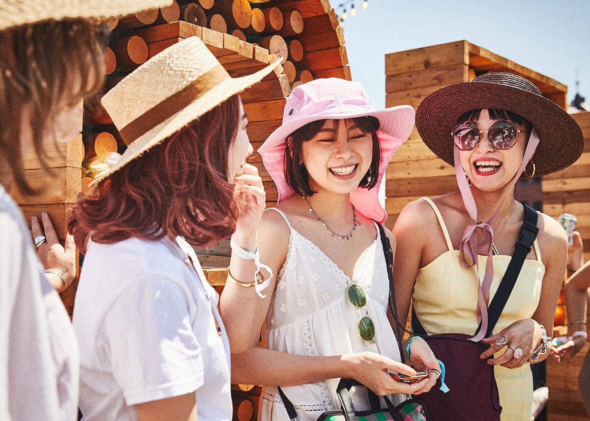 【GREENROOM FESTIVAL'19】夏を先取りしたフェスファッションスナップ! 10