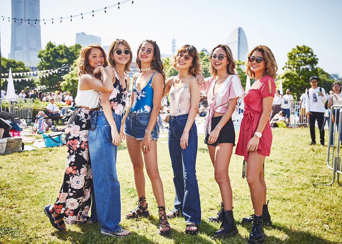 【GREENROOM FESTIVAL'19】夏を先取りしたフェスファッションスナップ! 4-1