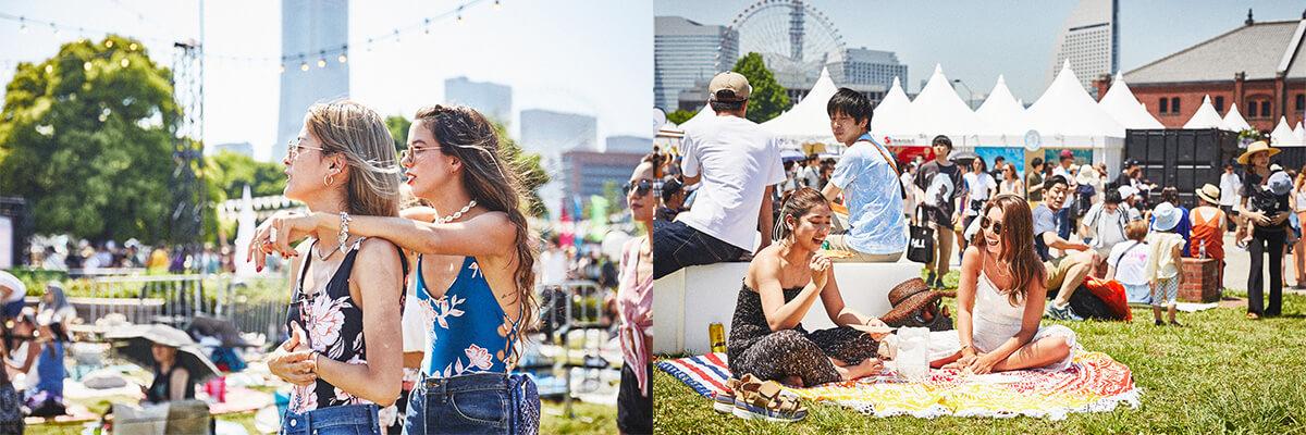 【GREENROOM FESTIVAL'19】夏を先取りしたフェスファッションスナップ! 3-1