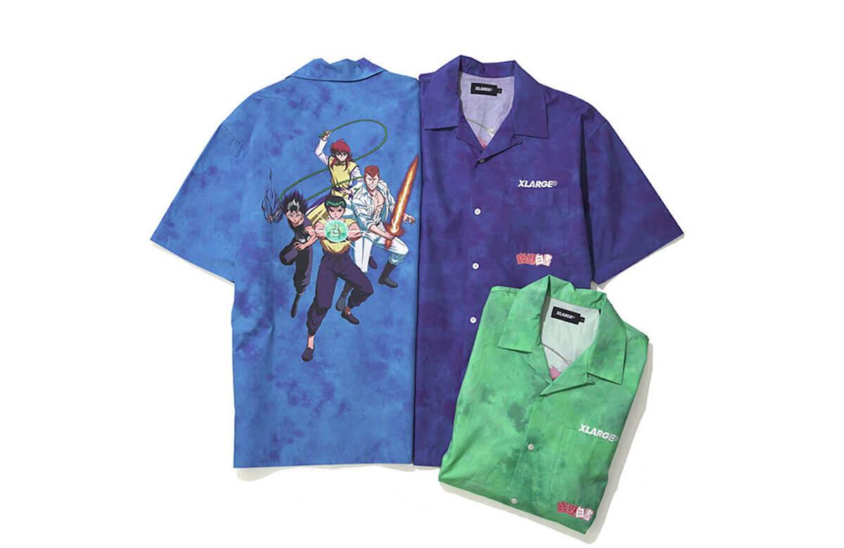 幽助が、飛影が、蔵馬がTシャツに!『幽☆遊☆白書』×XLARGEコラボレーションが実現 life190610_yuyuhakusho_xlarge_main