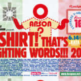 LOS APSON? x LIQUIDROOM presents T-SHIRT! THAT'S FIGHTING WORDS!!! 2019