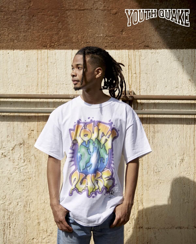YouthQuakeが1日限りのポップアップショップを開催し、VERDY、CreativeDrugStore、上岡拓也とのコラボTシャツを販売|LookにはDaichi Yamamoto、俳優の藤江琢磨ら life-fashion190611-youth-quake-2