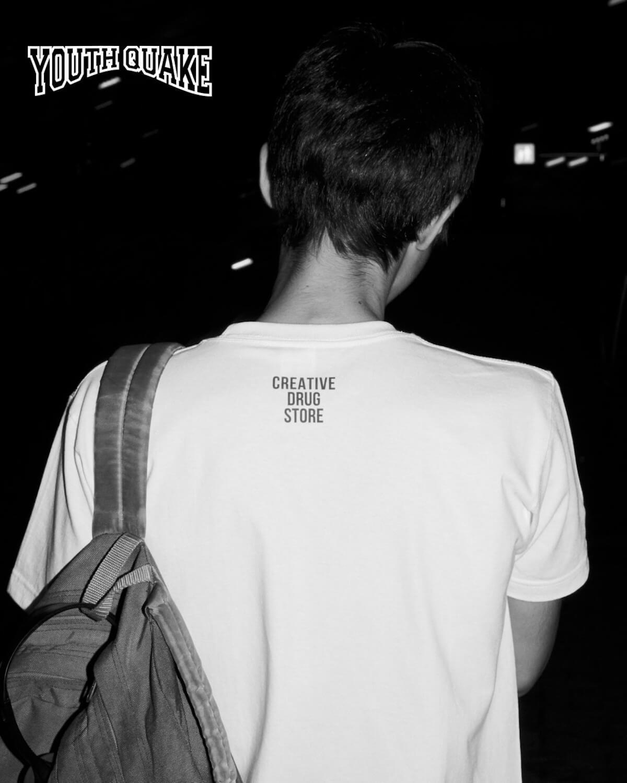 YouthQuakeが1日限りのポップアップショップを開催し、VERDY、CreativeDrugStore、上岡拓也とのコラボTシャツを販売|LookにはDaichi Yamamoto、俳優の藤江琢磨ら life-fashion190611-youth-quake-4