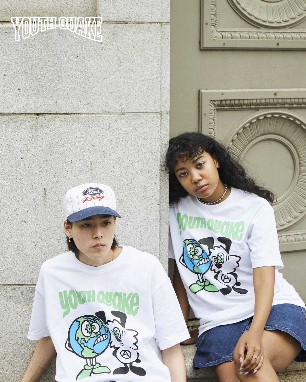 YouthQuakeが1日限りのポップアップショップを開催し、VERDY、CreativeDrugStore、上岡拓也とのコラボTシャツを販売|LookにはDaichi Yamamoto、俳優の藤江琢磨ら life-fashion190611-youth-quake-8