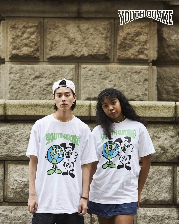 YouthQuakeが1日限りのポップアップショップを開催し、VERDY、CreativeDrugStore、上岡拓也とのコラボTシャツを販売|LookにはDaichi Yamamoto、俳優の藤江琢磨ら life-fashion190611-youth-quake-9