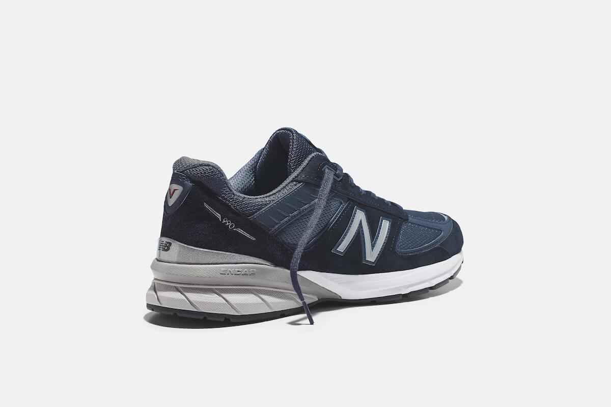 ニューバランスを象徴するフラッグシップモデル「990v5」に新色ネイビーが登場 life190614_newbalance_990v5_6