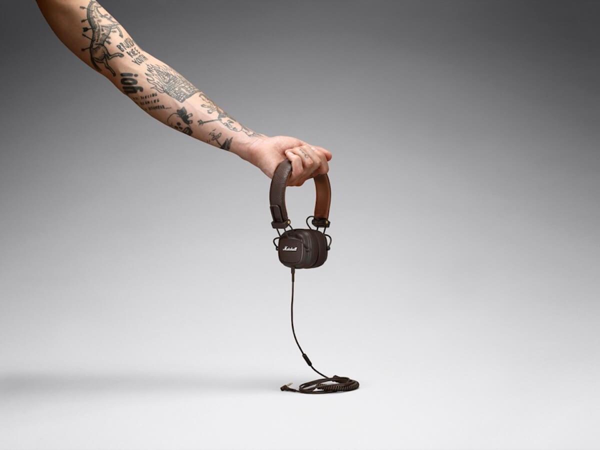 Marshallの人気ヘッドホンシリーズにブラウン・ホワイトの2色が登場!有線&Bluetooth無線も tech190617_marshall_major3_22