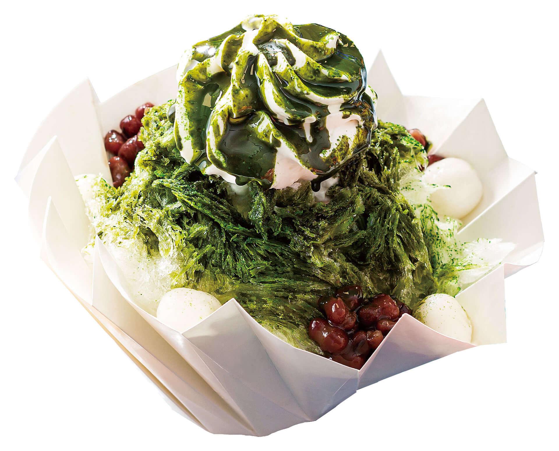 ヨックモック青山店に日本に7軒しかない氷職人の氷を使ったかき氷が登場!「苺」と「抹茶小豆」の2種類 gourmet190620yokumoku-kakigori_2-1920x1548