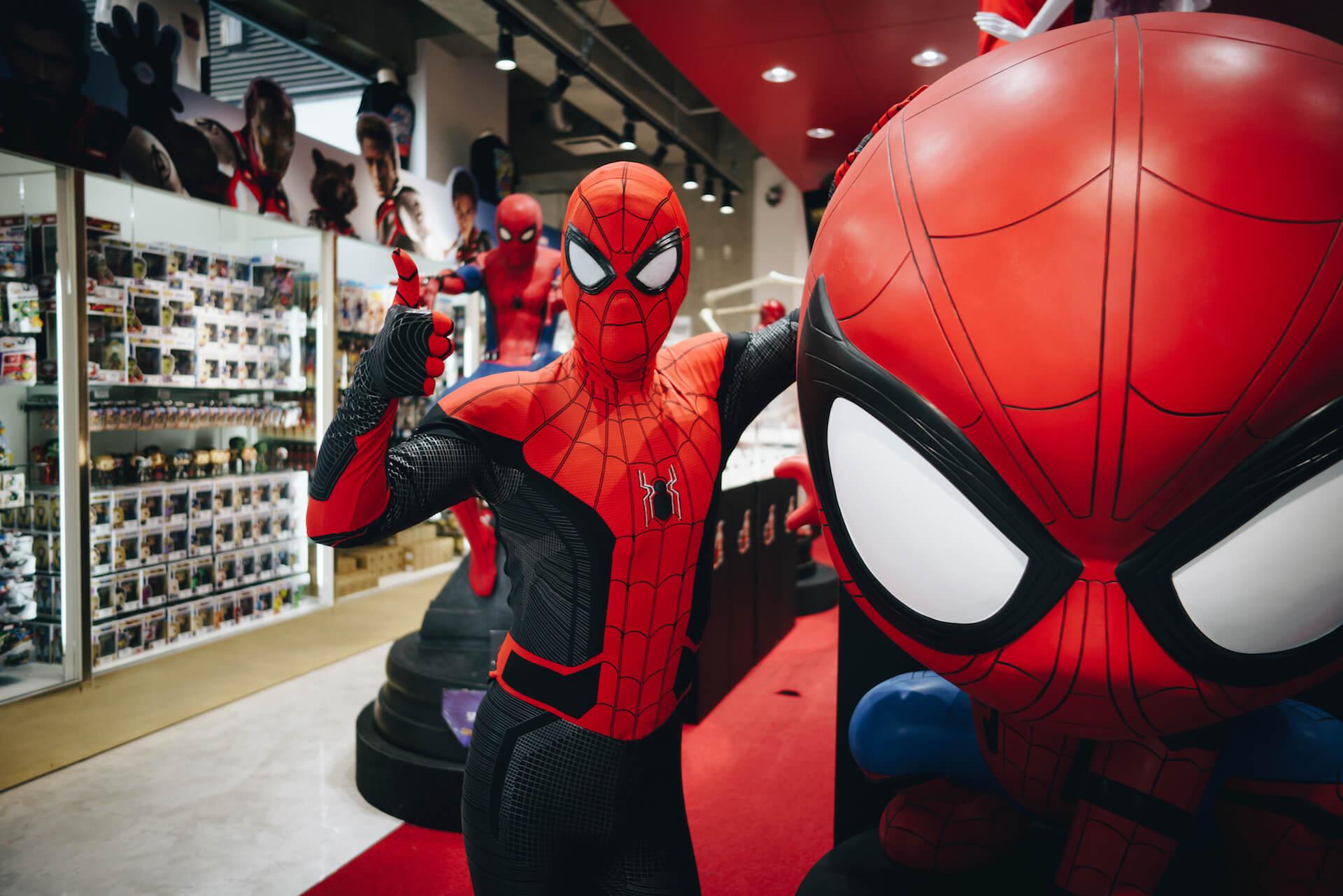 スパイダーマン好きなら目ギラギラ大興奮必至の期間限定ショップ探訪 art-culture-spiderman-store-report-1