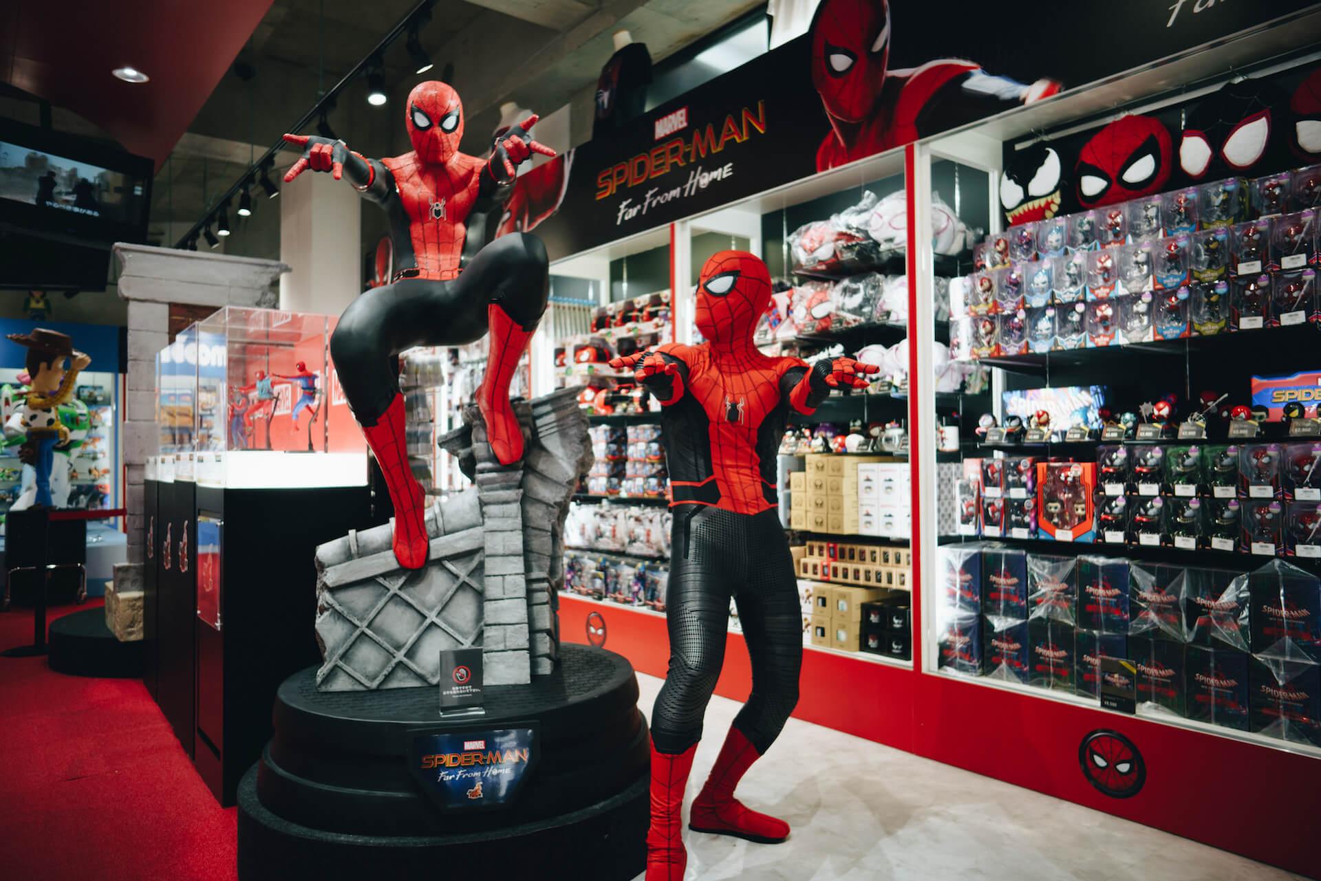 スパイダーマン好きなら目ギラギラ大興奮必至の期間限定ショップ探訪 art-culture-spiderman-store-report-2