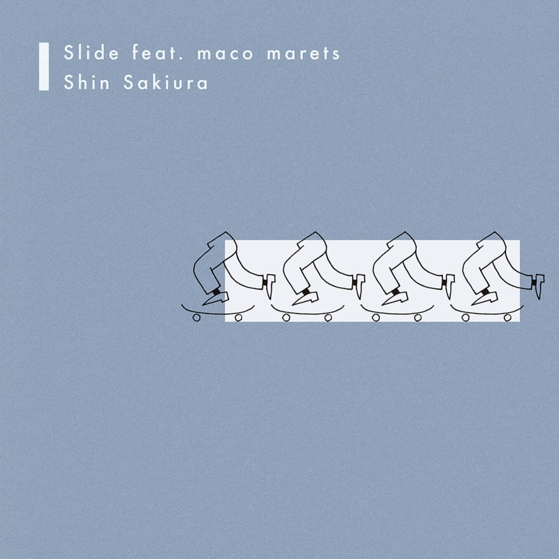 Shin Sakiuraがmaco maretsをフィーチャリングした新曲「Slide feat. maco marets」を配信リリース|ワンマンライブ開催も決定 slide_cover_1080-1440x1440