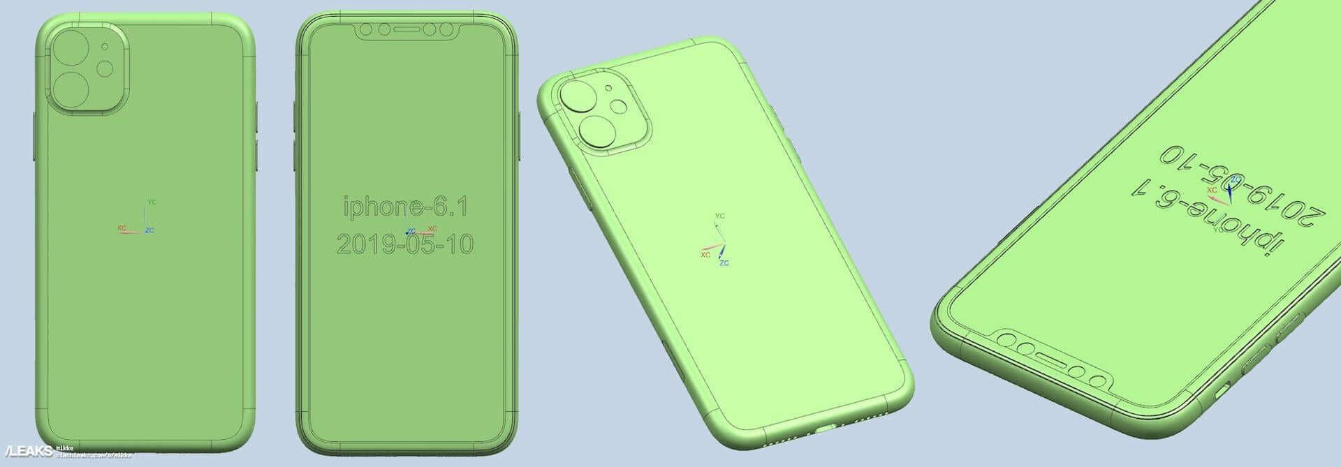iPhone XIのCADレンダリング画像が公開|カメラはやはりトリプルカメラに? tech190702_iphone11_cad_1-1920x669
