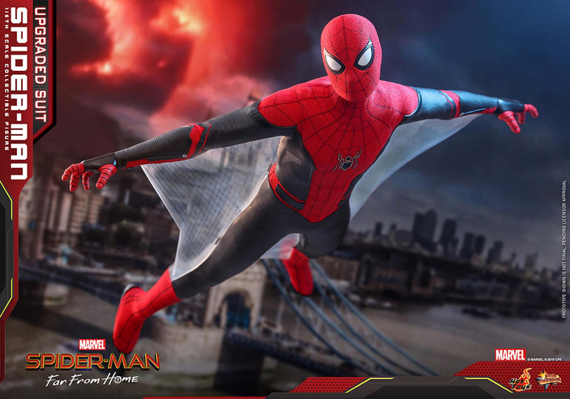 新生スパイダーマン誕生!『スパイダーマン:ファー・フロム・ホーム』のアップグレードスーツが完全フィギュア化 film190702_sffh_upgrade_2-1920x1344