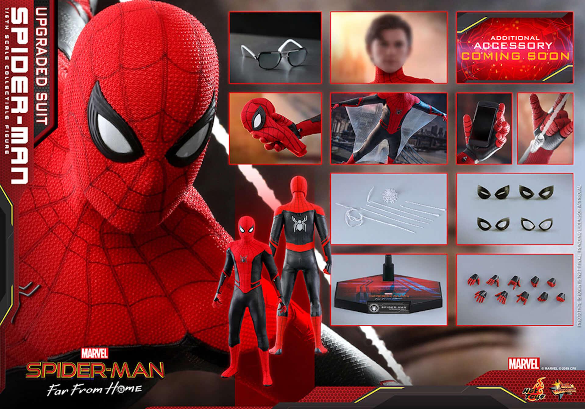 新生スパイダーマン誕生!『スパイダーマン:ファー・フロム・ホーム』のアップグレードスーツが完全フィギュア化 film190702_sffh_upgrade_1-1920x1344