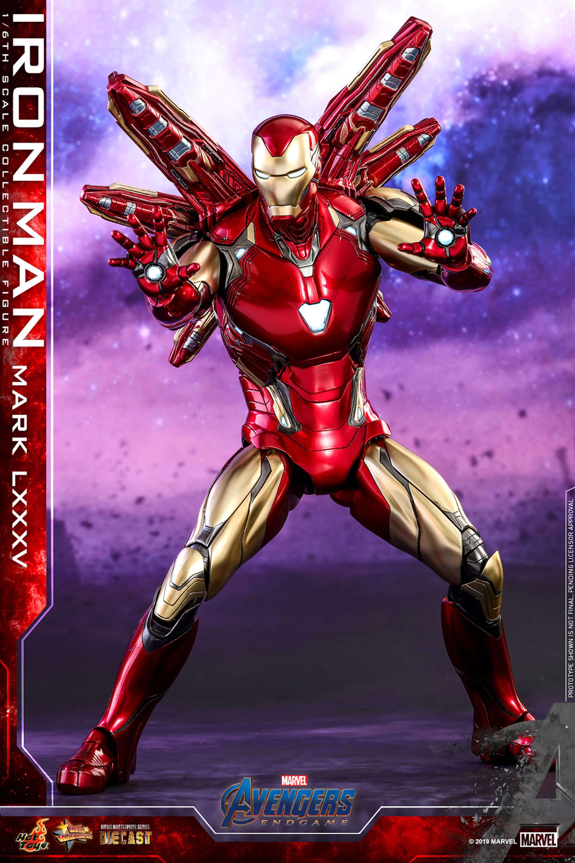"""""""私はアイアンマンだ""""『アベンジャーズ/エンドゲーム』アイアンマンの「ナノ・ガントレット」フィギュアが登場 art190703_avengers_endgame_hottoys_3-1920x2880"""