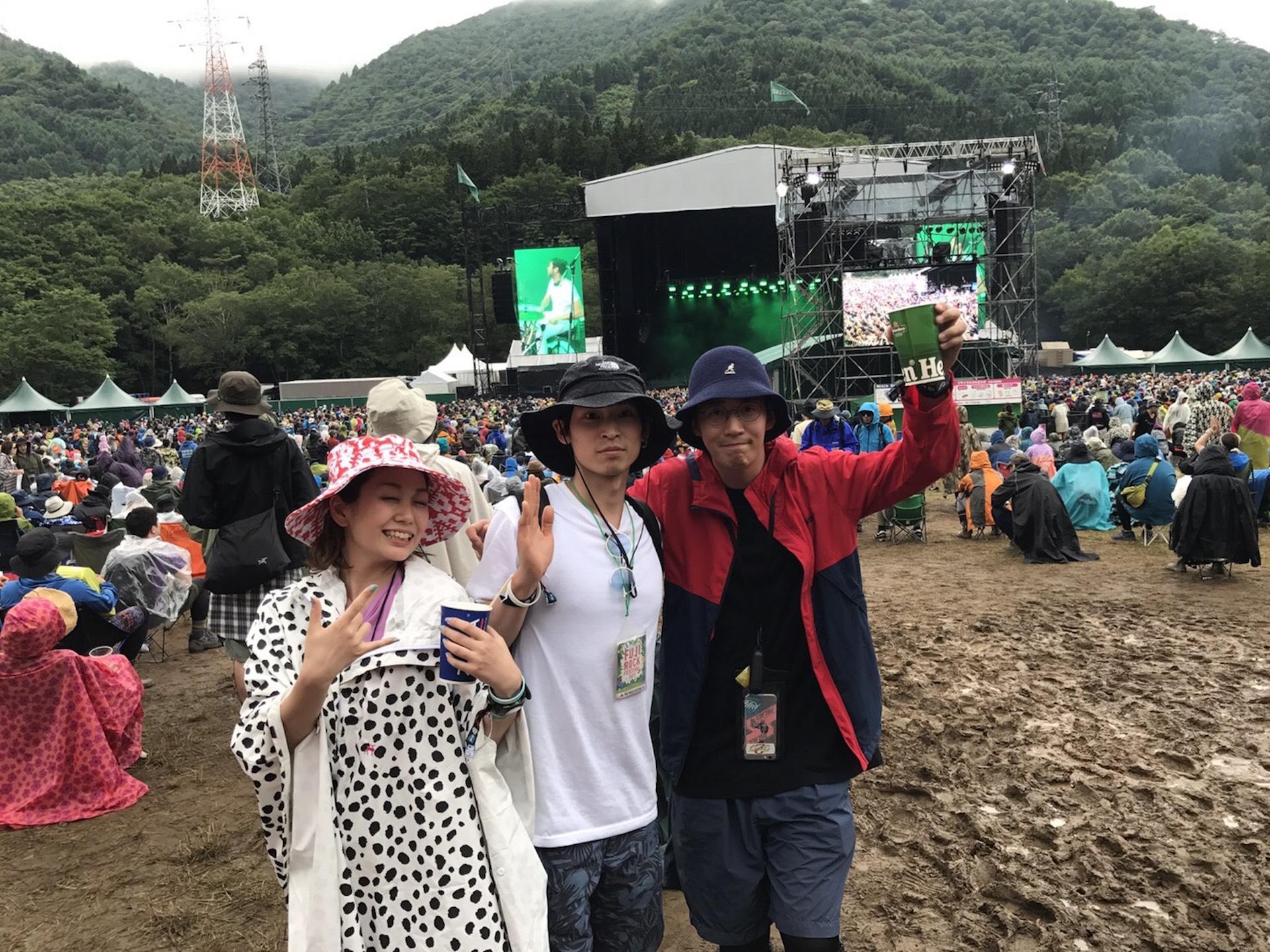 25人に訊く<FUJI ROCK FESTIVAL 2019>にいく理由|#13 カズシゲスズキ(アーティスト|I Saw You Yesterday) music190700-fujirock2019-1