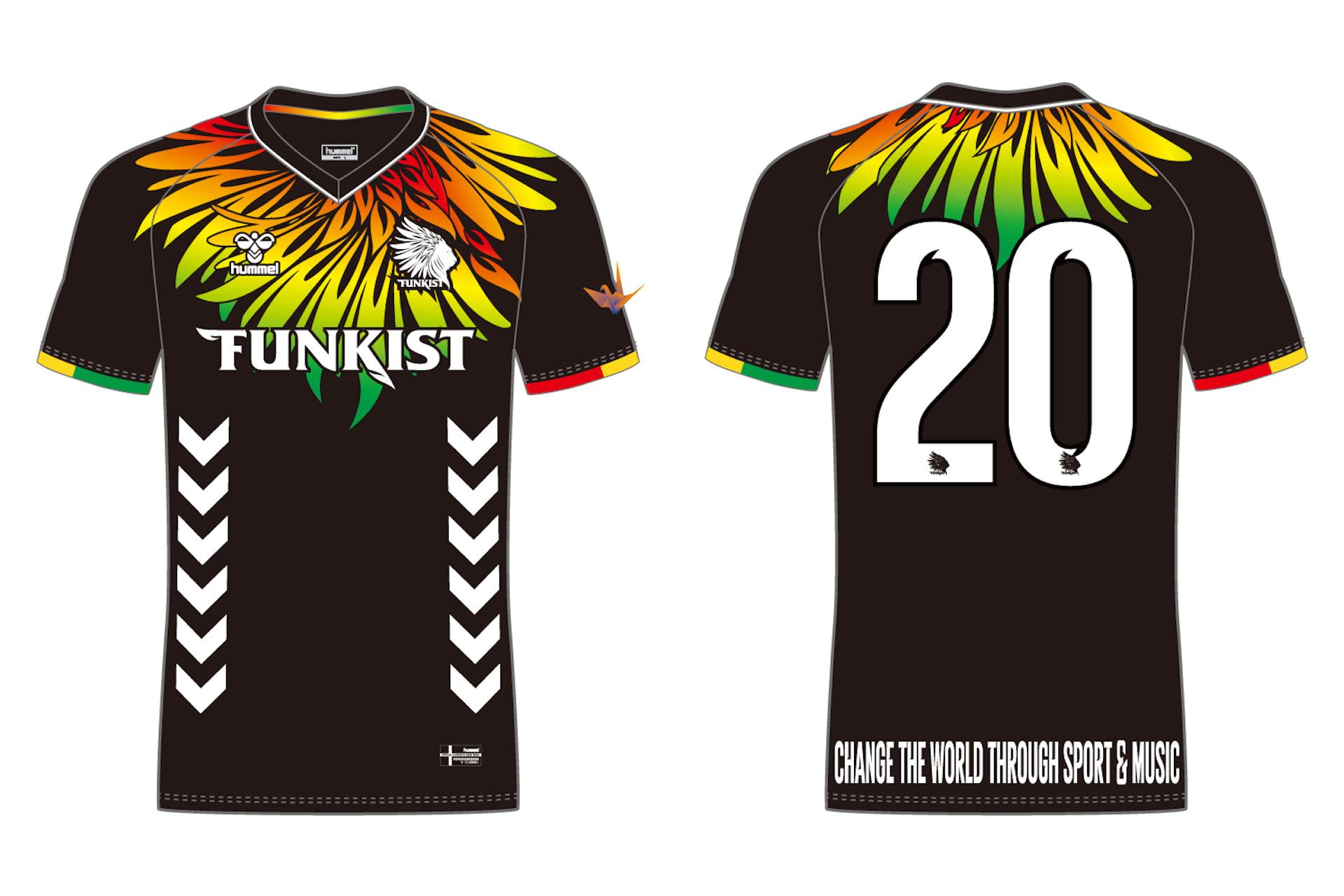 FUNKISTの20周年記念ユニフォームをヒュンメルがデザイン|売り上げの一部が南アフリカの支援に lifefashion190703funkist-hummel_6-1920x1280