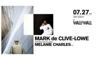 MARK de CLIVE-LOWE featuring special guest MELANIE CHARLES