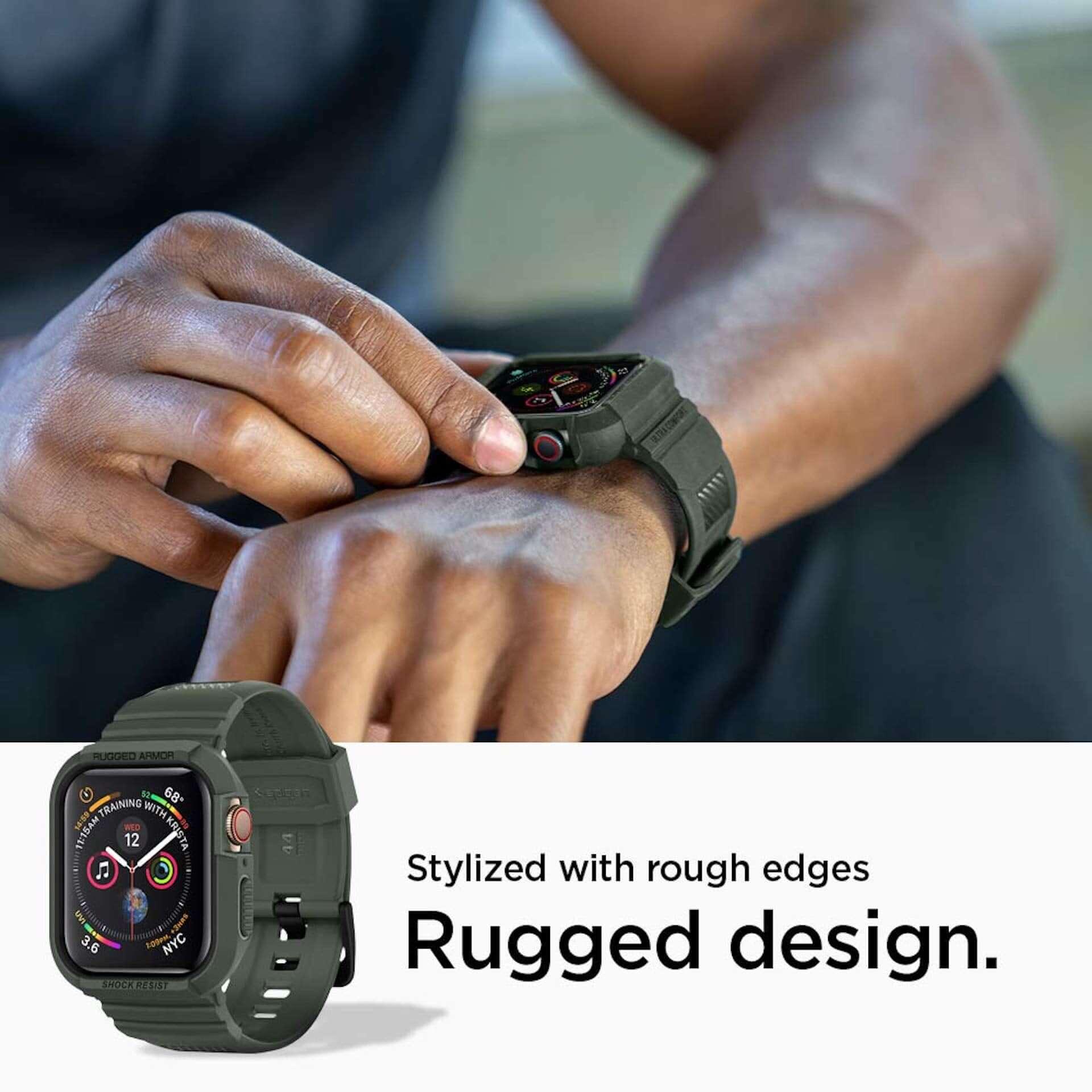 アウトドア・スポーツシーンでもApple Watchを!耐衝撃ケースSpigen「ラギッド・アーマー プロ」に新色追加 technology190708spigen-applewatch4_3-1920x1920