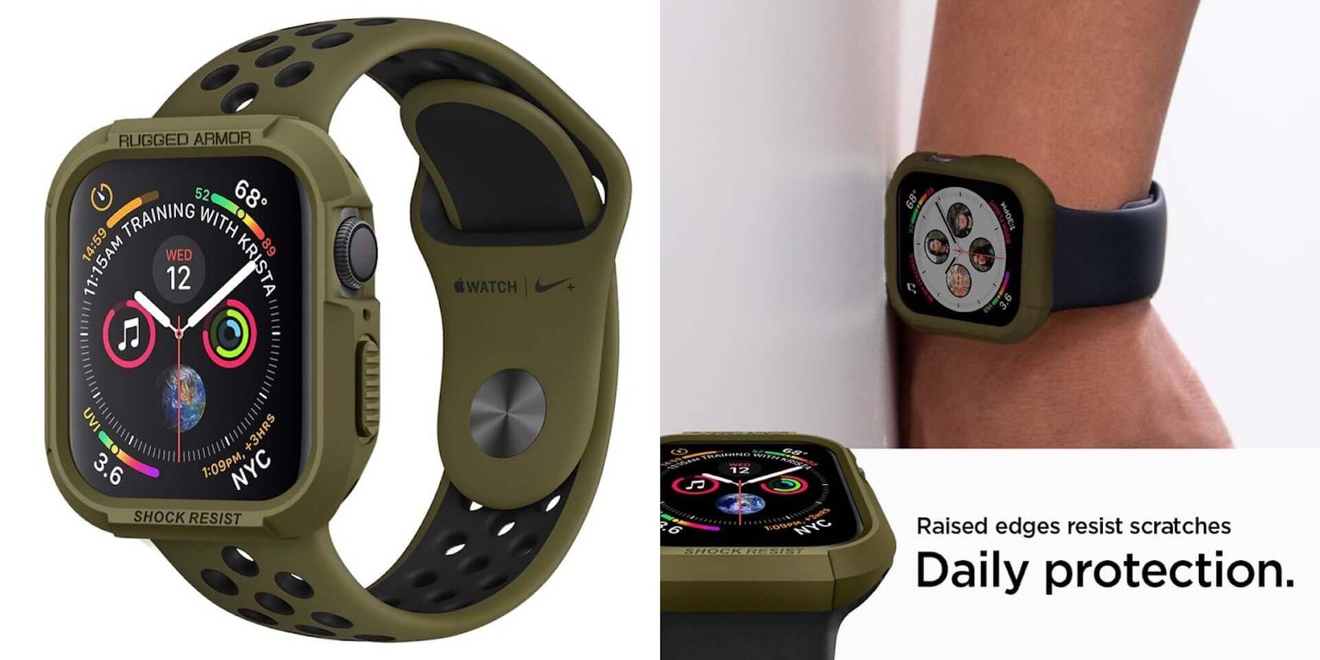 アウトドア・スポーツシーンでもApple Watchを!耐衝撃ケースSpigen「ラギッド・アーマー プロ」に新色追加 technology190708spigen-applewatch4_5-1920x960